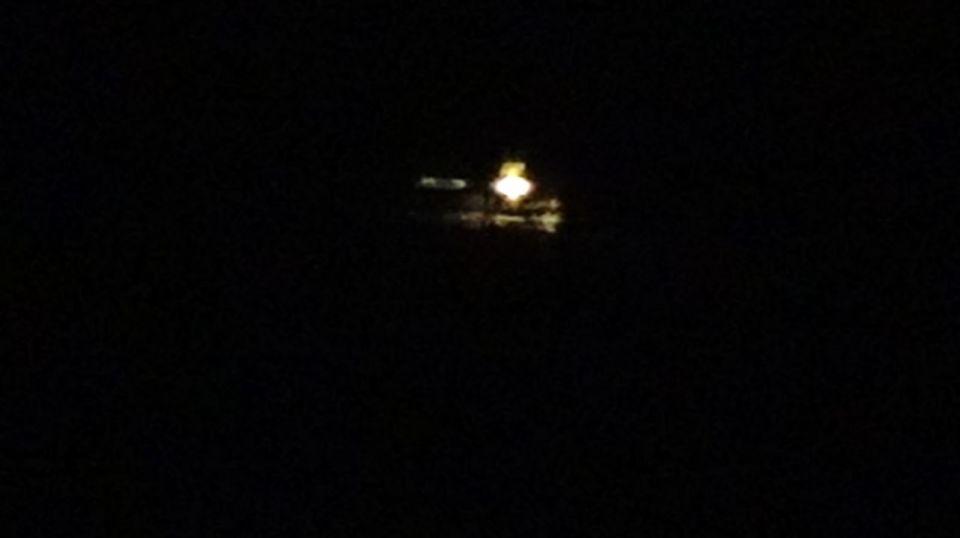 Ufo boven Nijmegen foto