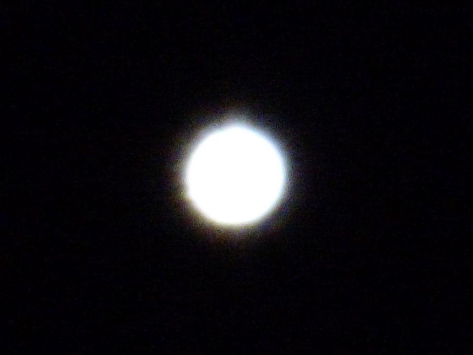 Onbekende lichtbol ingezoemd 60x foto