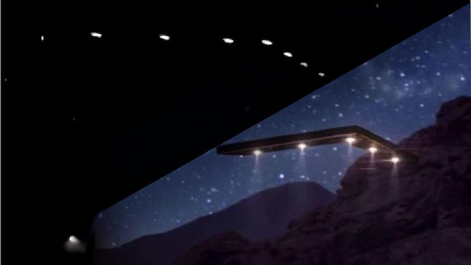 Boomerang met 7 lichten. foto