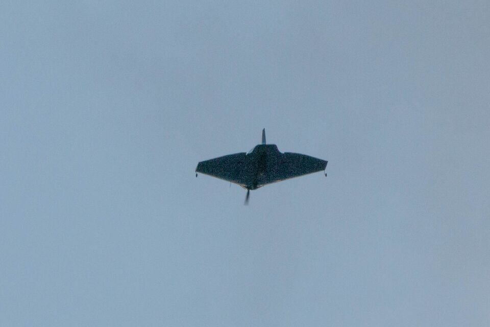 """Deze UFO lijkt bij nader onderzoek op de """"Verhees Delta"""". foto"""