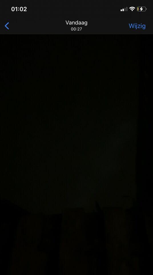 3 licht bollen zweven heen en weer foto