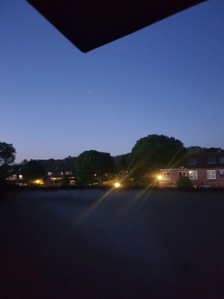 Fel licht op de fotoos zag ik de verschillende vormen foto
