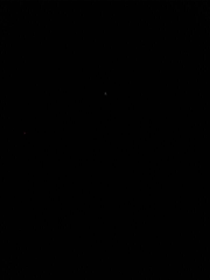 Langzaam bewegende lichtkegel foto