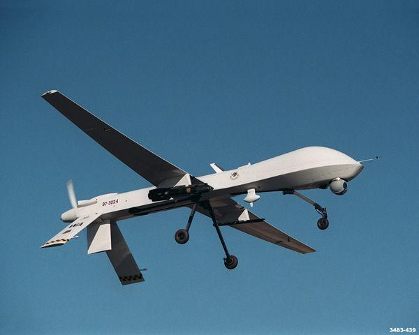 *geen UFO* maar geruisloze UAV drone boven Breda? foto