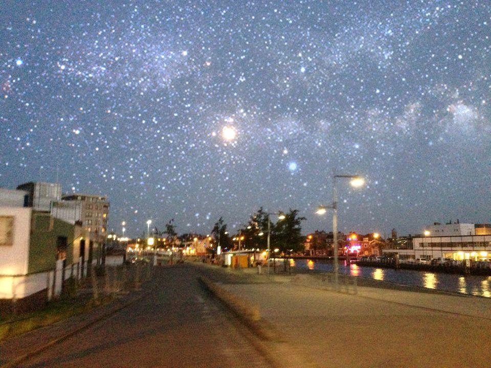 Melkweg boven Alkmaar? foto