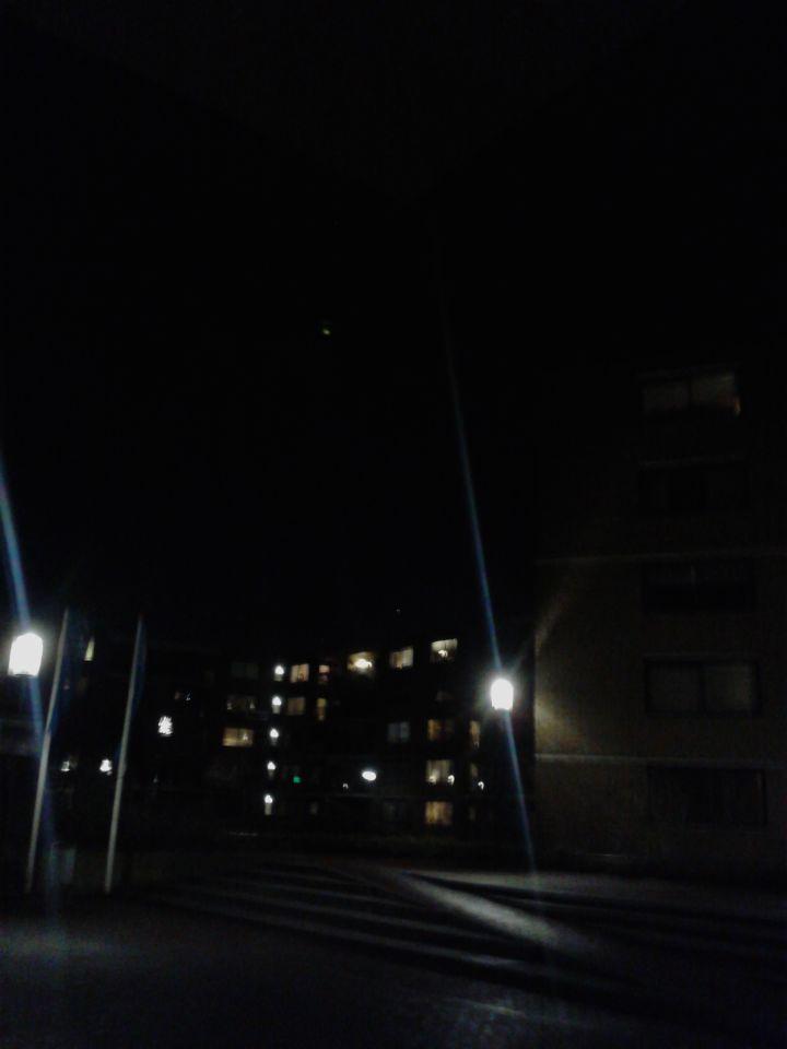 UFO boven centrum Spijkenisse foto