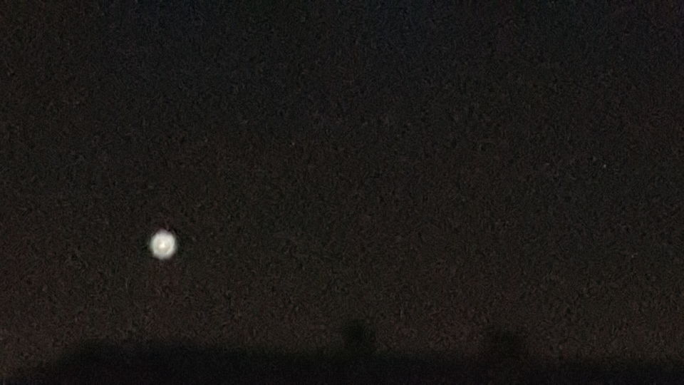 Object groter dan ster en kleiner dan maan foto