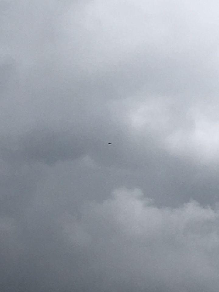 Was een vliegtuig die leek wel op zo klaver 4 vorm foto