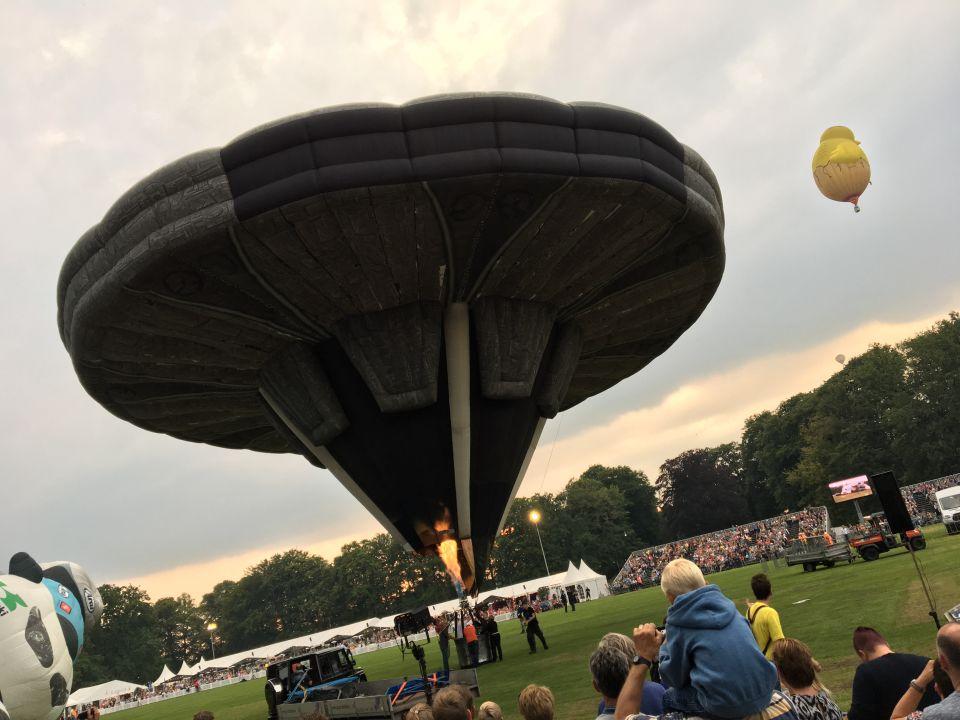 Ufo gespot boven Barneveld foto