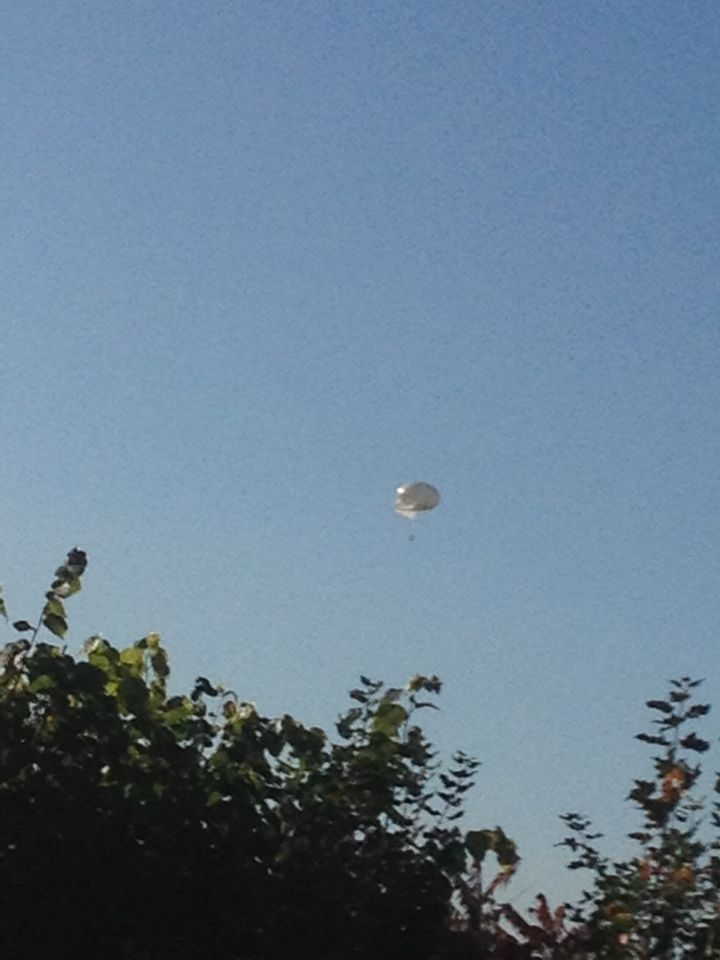 Rond UFO foto