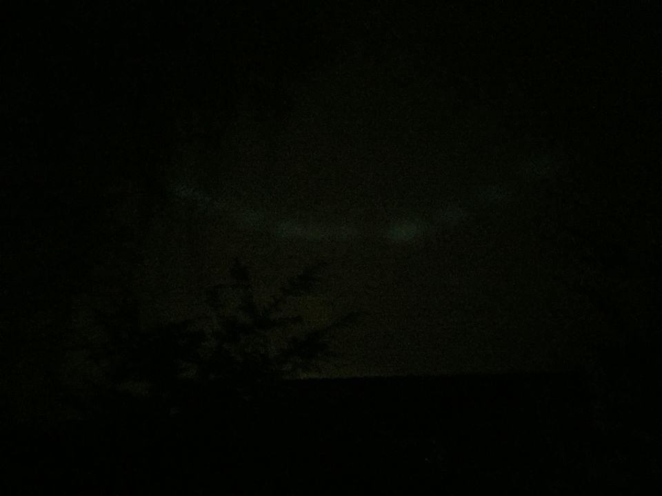 Witte lichtbollen foto