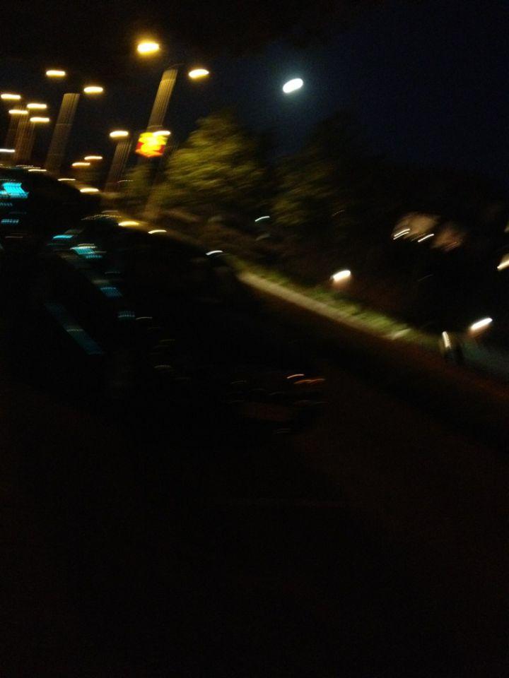 Ufo boven Leeuwarden foto