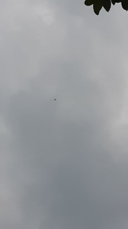 Vliegend object foto