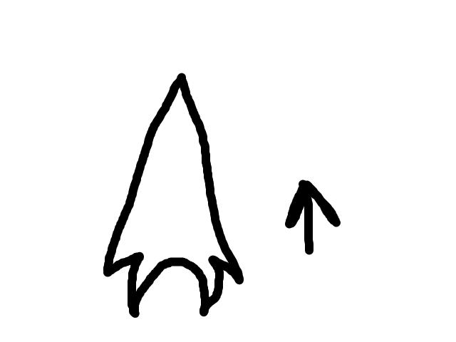 Grijzige driehoek schets